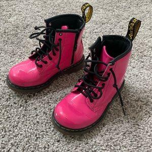 Pink Dr. Martens - Size 9